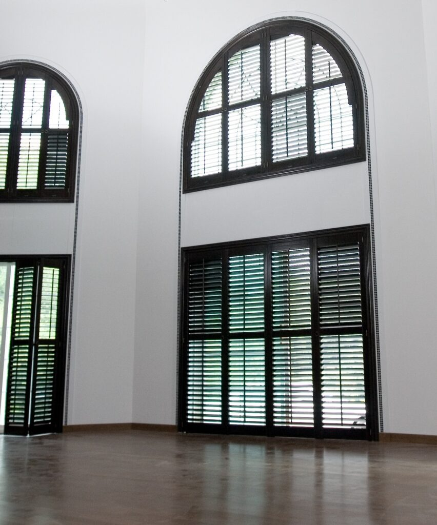 Arched-special-shape-shutters